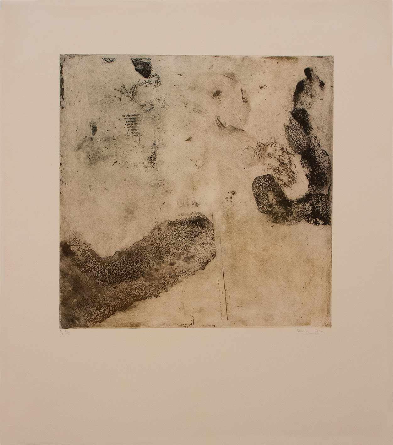 Serie Odisea - Grabado Calcográfico - Fabiola Ubani