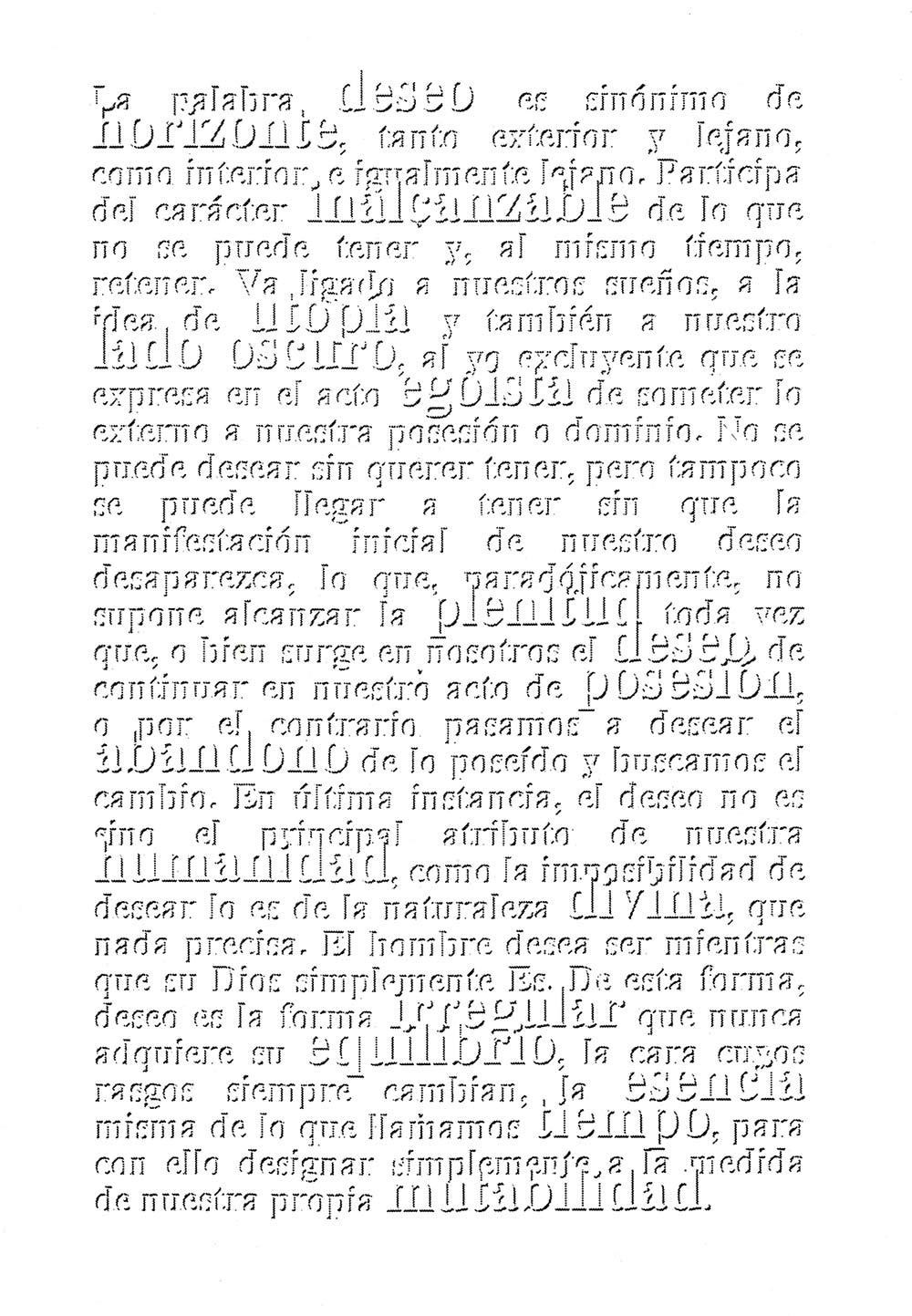 Serie Deseo -  Caría - Fabiola Ubani